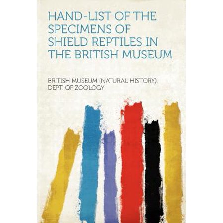 - Hand-List of the Specimens of Shield Reptiles in the British Museum