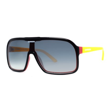 f315f59302 Carrera - Carrera CA 5530 S 3Y1 Black Yellow Red Men s Shield Sunglasses -  Walmart.com