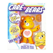 "NEW Care Bears - 5"" Interactive Figure - Tenderheart Bear - Your Touch Unlocks 50+ Reactions & Surprises!"