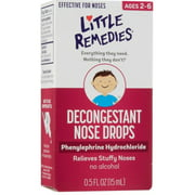 Little Noses Decongestant Nose Drops 0.50 oz (Pack of 6)