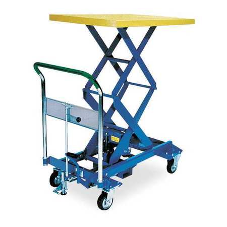 DANDY LIFT A-350W Scissor Lift Cart,770 lb.,Steel,Fixed