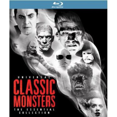 Universal Classic Monsters  The Essential Collection  Blu Ray Digibook