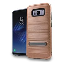 MUNDAZE Rose Gold Defense Double Layered Case For Samsung Galaxy S8 PLUS Phone