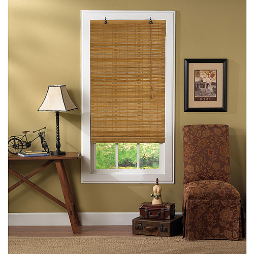 roll up blinds radiance venezia woven bamboo roll up shades 31114