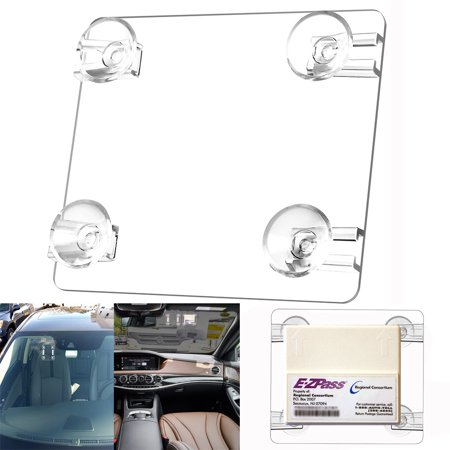 MINI EZ-Pass Clip Electronic Toll Tag Holder for the New Small E-ZPass EZ Pass (Ez Clip Front)