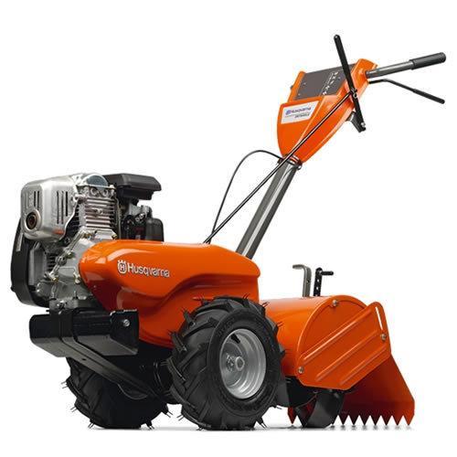 "Husqvarna 960 93 00-12 17"" 160cc 190 RPM 4-Cycle Dual Rotating Rear Tine Tiller"