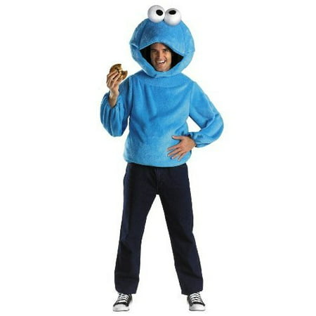 Cookie Monster Adult Halloween Costume - Cookie Monster Tween Costume