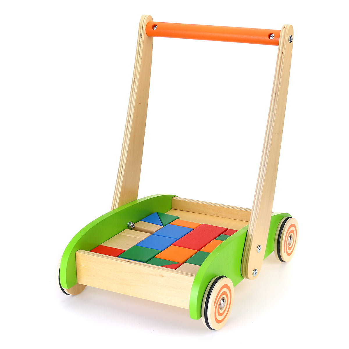 Wooden Baby Walker, Baby Learning Walker for 1 Year Old ...