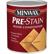 Minwax Pre-Stain Wood Conditioner, Clear, 1/2 Pint