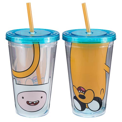 Finn And Jake Adventure Time Travel Cup