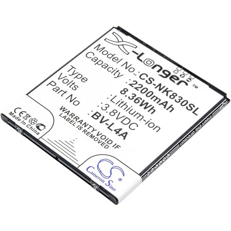 Replacement Battery For Nokia 3.8v 2200mAh / 8.36Wh Mobile