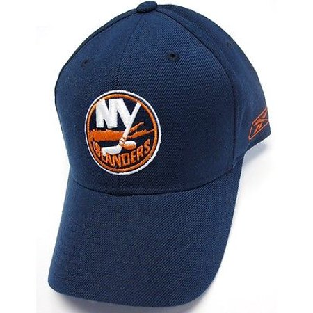 New York Islanders NHL Reebok Basic Navy Blue Hat Cap w/ Logo Adjustable ()