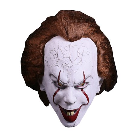 Deluxe Latex Full Head  Evil terrifying Clown Mask for Halloween, Cosplay,stage performances, party - Latex Clown