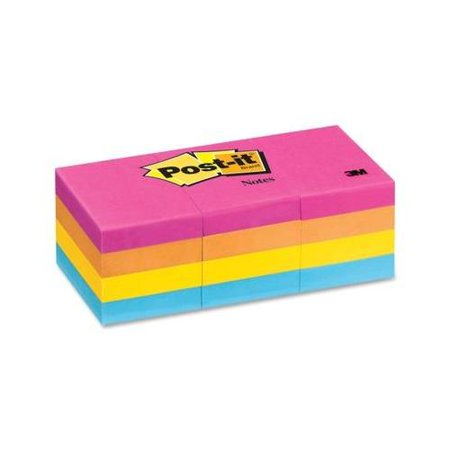 Post-it Notes in Neon Colors MMM653AN