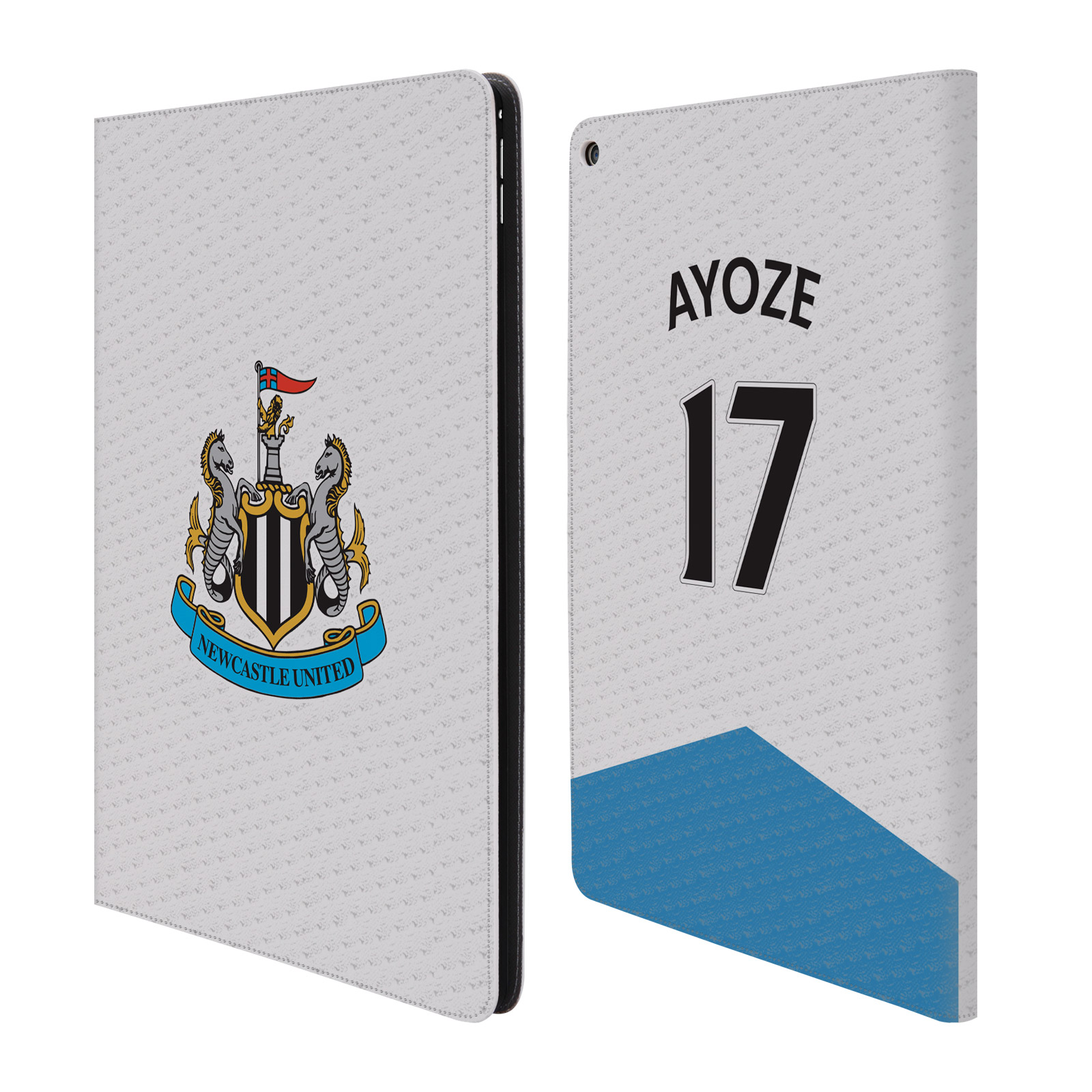 OFFICIAL NEWCASTLE UNITED FC NUFC JERSEY LEATHER BOOK WAL...