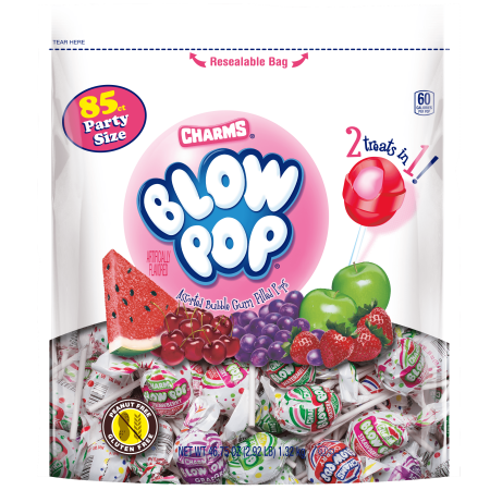 Charms, Assorted Blow Pops Candy, 2.9 Lb - Charms Candy