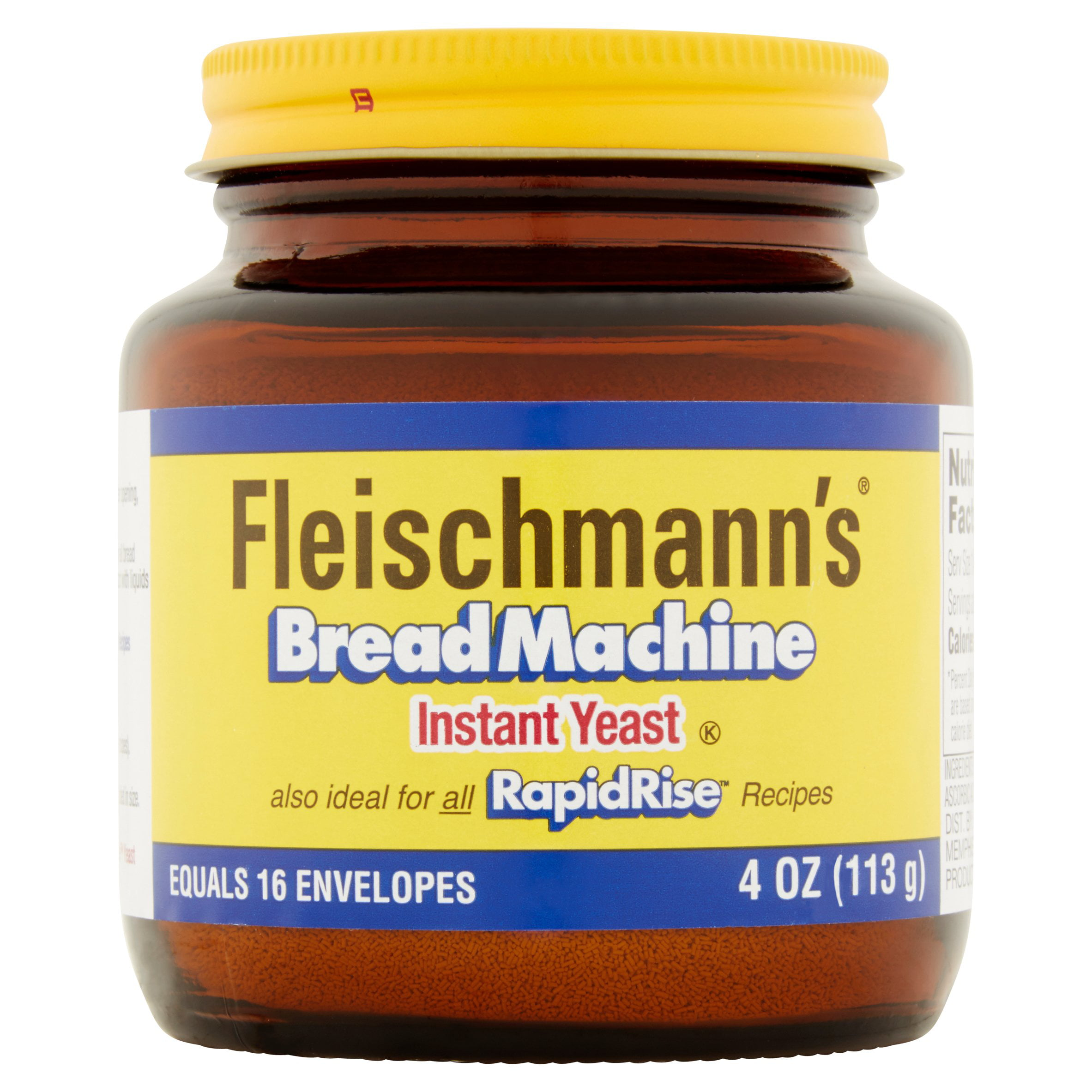 Fleischmann's Bread Machine Instant Yeast, 4.0 OZ by ACH Food Companies, Inc.