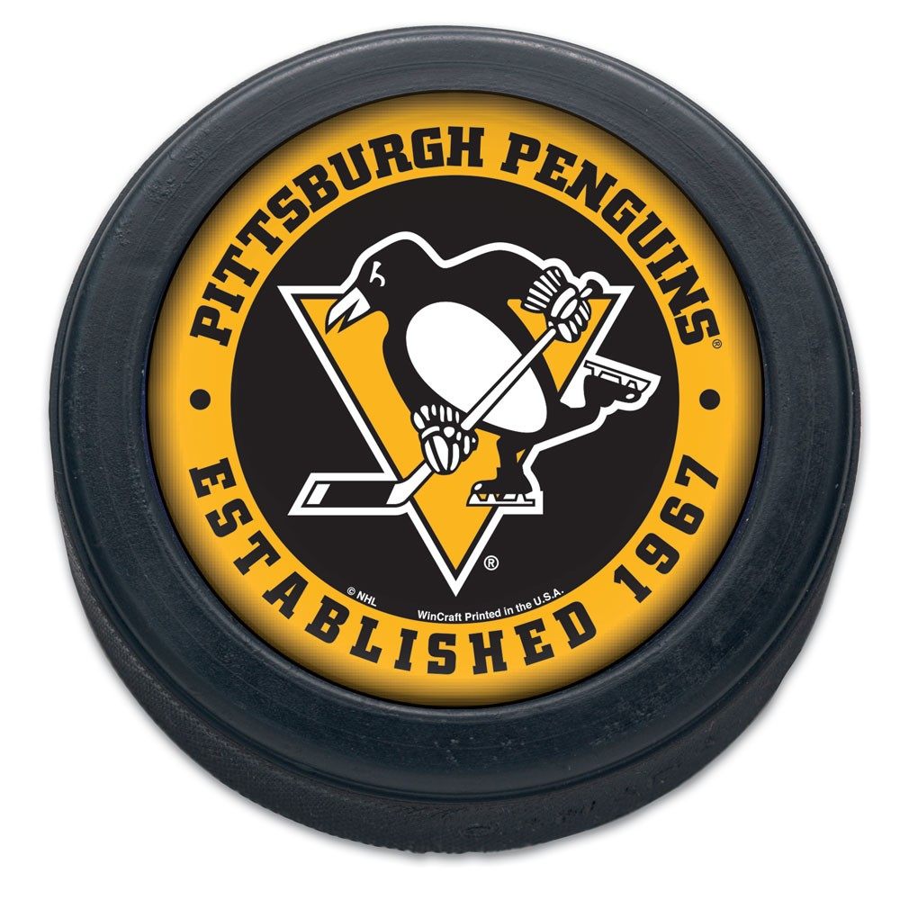 Pittsburgh Penguins Official NHL Hockey Puck by Wincraft 774132