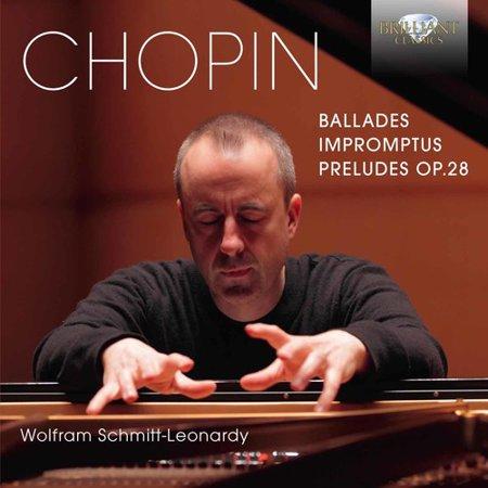 Wolfram Schmitt Leonardy   Chopin  Ballades Impromptus Preludes  Cd