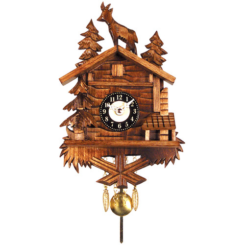 Black Forest Battery Operated Cuckoo Clock by Black Forest