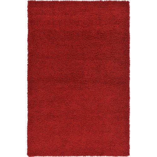 Affinity Linens Hand-Woven Red Area Rug