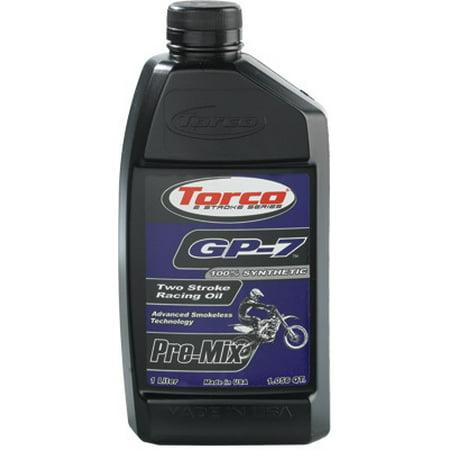 Torco International Corp GP-7 Two Stroke Racing Oil Bottle - 1 Liter Bottle ()