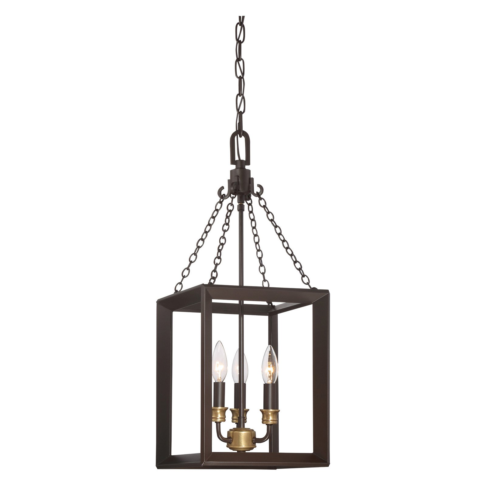 Quoizel Brook Hall BKH5303WT Mini Chandelier by Quoizel
