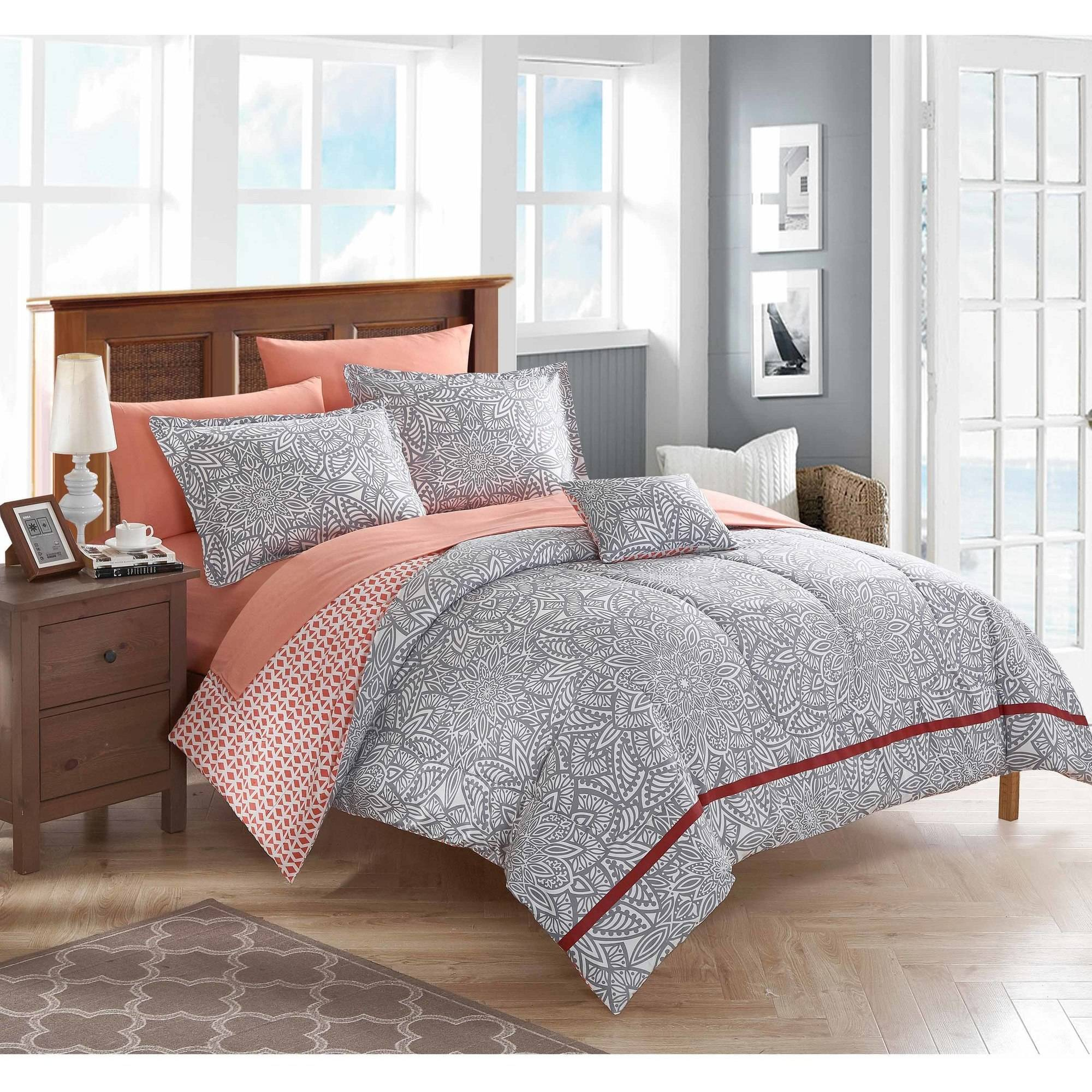 Mainstays Aria Bed-In-A-Bag Bedding Set