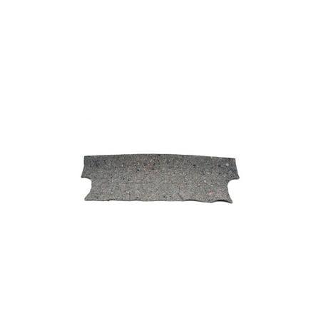 Eckler's Premier  Products 50-207510 - Chevelle Trunk Divider Jute Insulation (Jute Insulation)
