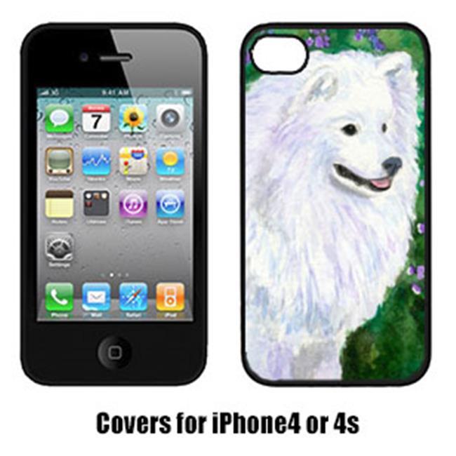 Carolines Treasures SS8965IP4 American Eskimo Cell Phone Cover Iphone4 - image 1 de 1