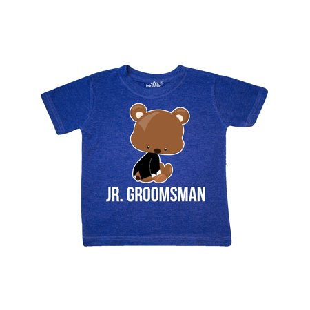 Jr. Groomsman wtih Teddy Bear for Wedding Toddler T-Shirt