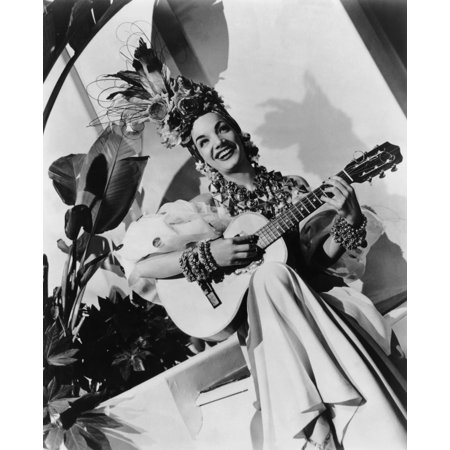 That Night In Rio Carmen Miranda 1941 Tm And Copyright  20Th Century Fox Film Corp All Rights Reserved Courtesy Everett Collection Photo Print - Carmen Miranda Costumes