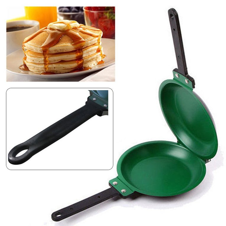 Non-stick Flip Pan Ceramic Pancake Maker Cake Porcelain Frying Pan Healthy
