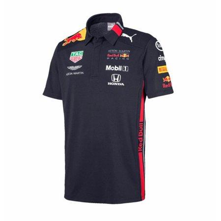 Red Bull Racing 2019 F1 Team Polo Shirt (L) (Team Red Bull Racing)