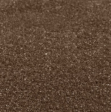 Chocolate Brown Crystalline Quartz Sand