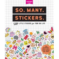 So. Many. Stickers. - Paperback