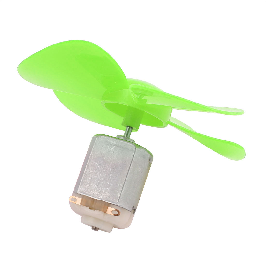5Pcs DC 6V 0.21A 13000RPM Strong Force Motor 4 Vanes Green Propeller 80mmx2mm - image 3 of 5