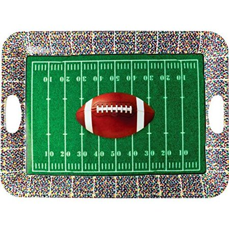 1 X Football Serving Tray - Football Serving Tray