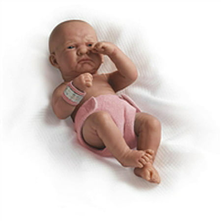 "JC Toys La Newborn 15"" First Day Real Girl Doll"