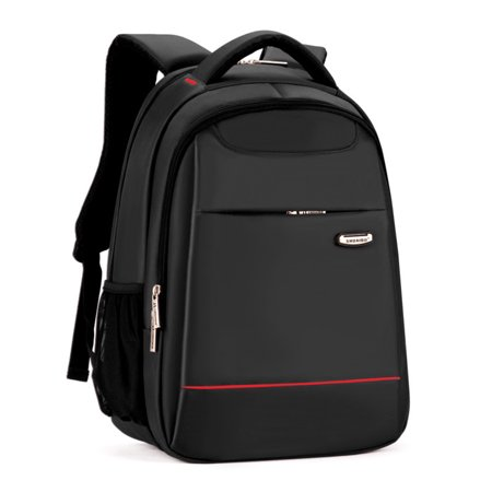 Lightweight Slim Best Laptop Backpack Up To 15 6   Black Padded Shockproof Business Travel College Macbook Computer Backpack With A Free Backpack Rain Cover