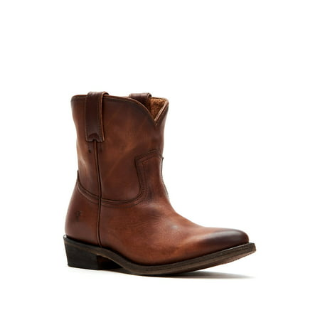 Billy Short Leather Boots