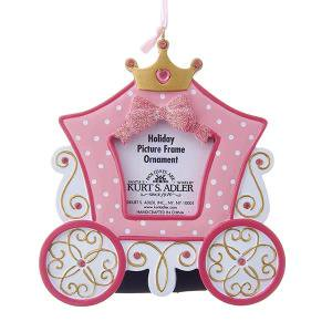 "4 75"" PRINCESS CARRIAGE PHOTO FRAME"