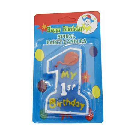 Glopo Inc 1st Birthday Candle