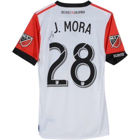 on sale 5dcbb 9c2bd Joseph Mora D.C. United Autographed Match-Used White #28 Jersey vs.  Montreal Impact on August 4, 2018 - Fanatics Authentic Certified -  Walmart.com
