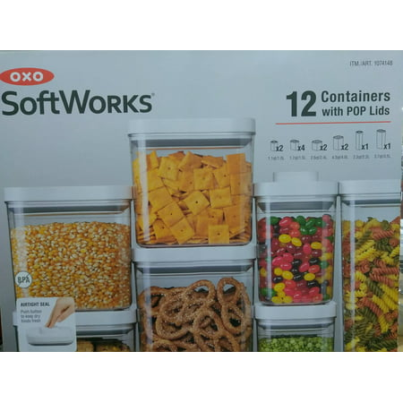 Pop Container (OXO Softworks 12 Piece POP Food Container)