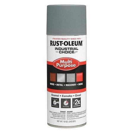 RUST-OLEUM 1680830 Industrial Choice ™ Spray Primer,Gray,12 oz. (Flat Gray Spray Paint)