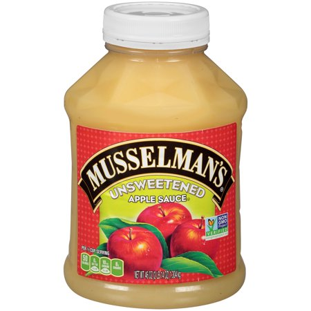 Upc 037323125288 musselman 39 s natural unsweetened for What can you make with unsweetened applesauce