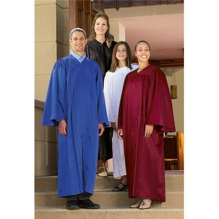 Cbcs Hd595rbl Jr Classic Choir Gown  44  Royal Blue   Junior