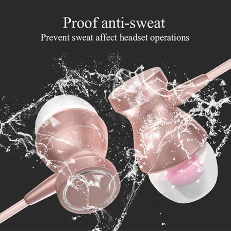 2019 The Newest! Noise Isolating in Ear Headphones Earphones with Pure Sound and Powerful B ass for iPhone, iPad, iPod, Sam sung Smartphones and Tablets Elec