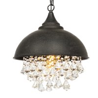 Best Choice Products Vintage Style Iron Lighting (Black)